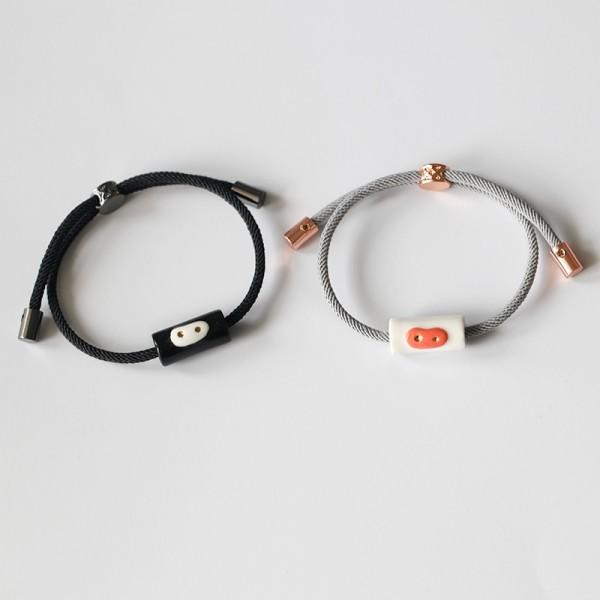 Engravable Pig Nose Matching Bracelets For Couples