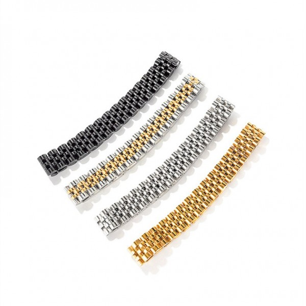 Simple Mens Chain Bracelets In Titanium
