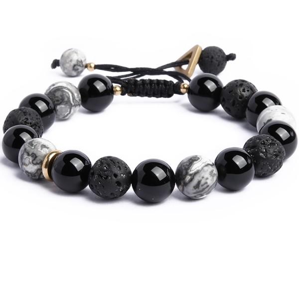 Unique Magic Night Beaded Bracelet For Men