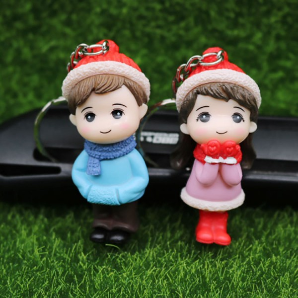 Cute Doll Keychains For Couples