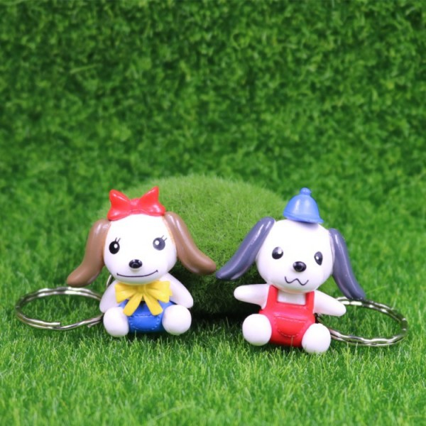 Cute Dog Doll Keychains For Couples