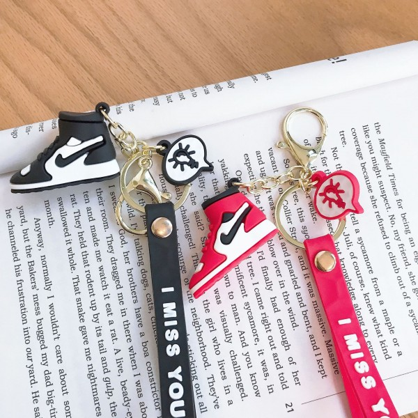 Cute Silicone Shoes Keychains For Couples