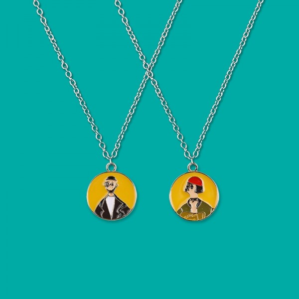 Personalized His And Hers Matching Necklaces