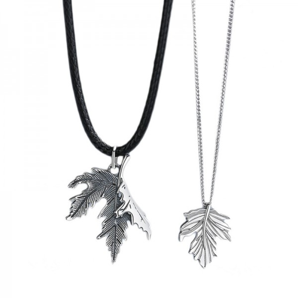 Personalized Leaves You Longing For Matching Necklaces Set In Sterling Silver