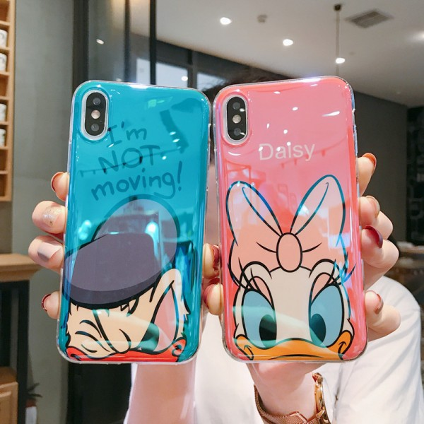 Donald And Daisy Duck iPhone Cases For Couples In Silicone
