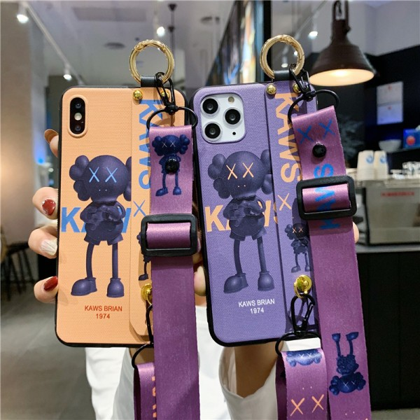 Cute KAWS iPhone Cases For Couples In Silicone
