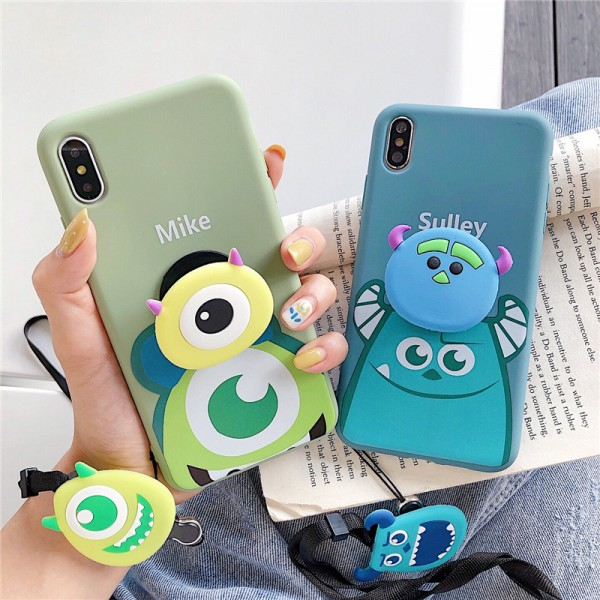 Cute Mike And Sulley iPhone Cases In Silicone