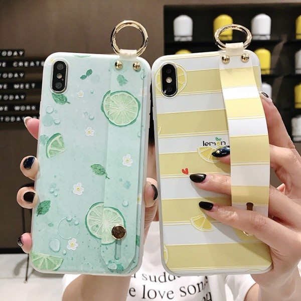 Cute Lemon iPhone Cases For Couples In TPU