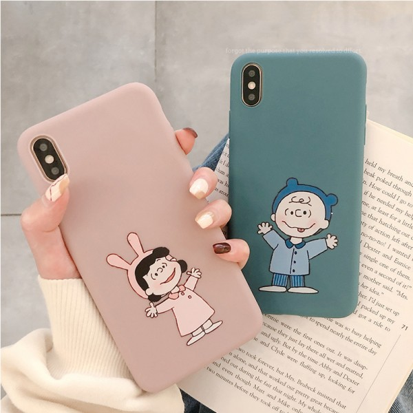 Lucy And Charlie iPhone Cases For Couples In TPU
