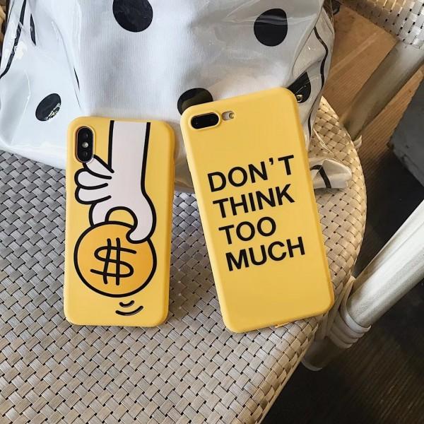 Cool Yellow iPhone Cases For Couples In TPU