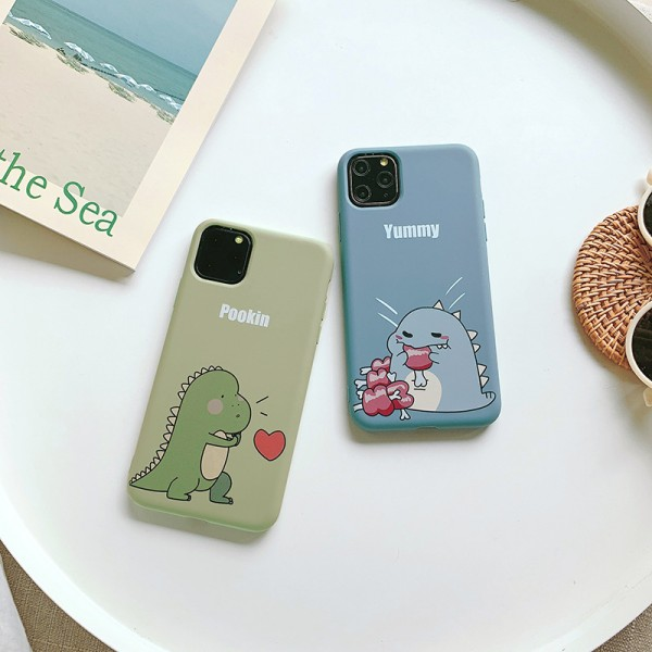 Cute Blue And Green Dragon iPhone Cases In TPU