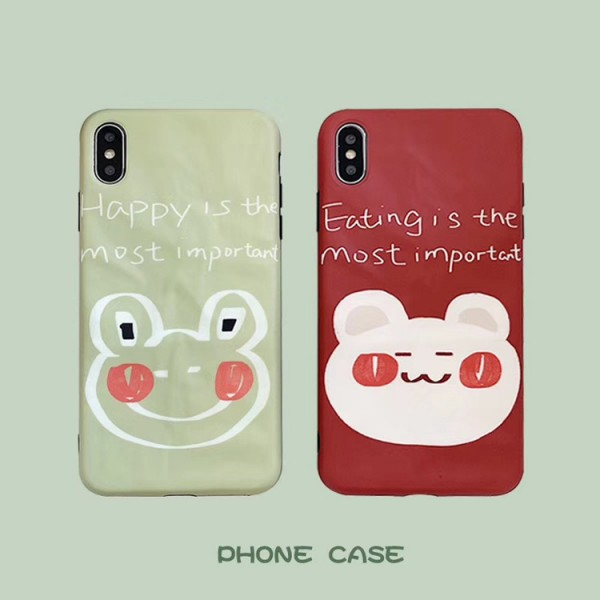 Cute Graffiti iPhone Cases For Couples In TPU
