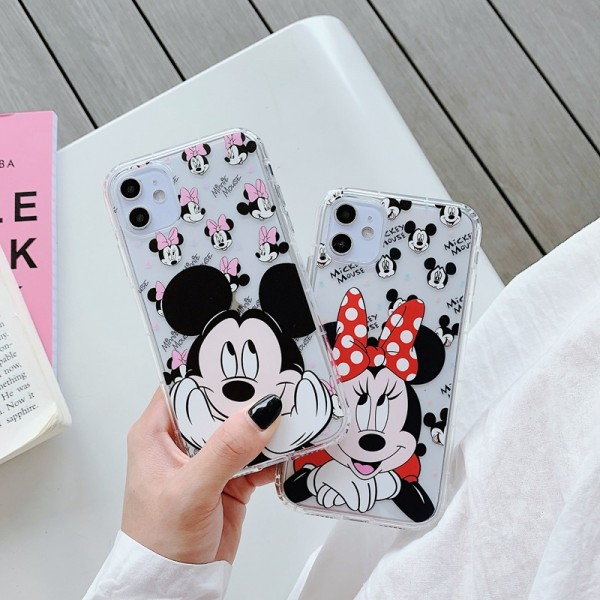Mickey And Minnie iPhone Cases For Couples In TPU