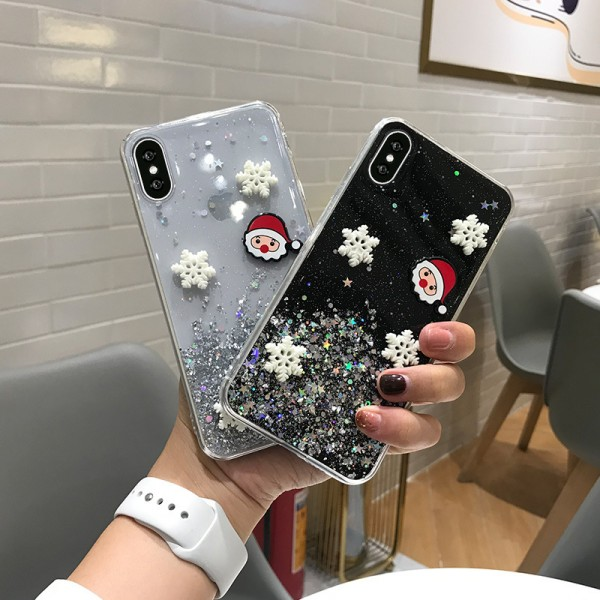 Cool Christmas iPhone Cases For Couples In TPU