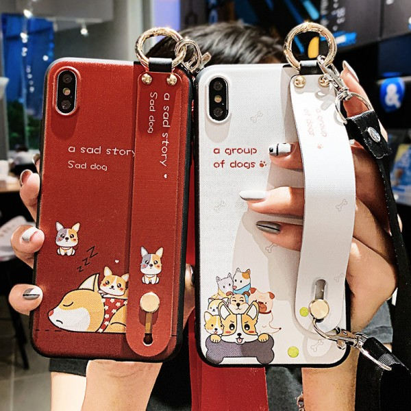 Cute Dogs iPhone Cases For Couples In TPU