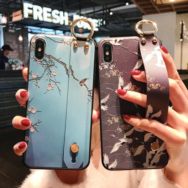 Cool Couple's Landscape Painting Samsung Cases In TPU