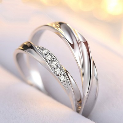 Matching Rings For Couples King And Queen Couple Rings Set